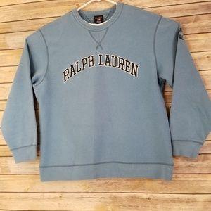 VTG Ralph Lauren Spell Out Crewneck Sweatshirt L